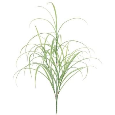 グラスリーフブッシュ(L)(プラスチック)(観葉植物・フェイクグリーン)【屋外対応】