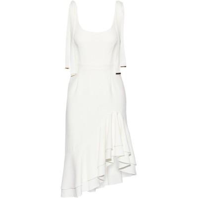 REBECCA VALLANCE ミニワンピース&ドレス アイボリー 6 ポリエステル 97% / ポリウレタン 3% ミニワンピース&ドレス