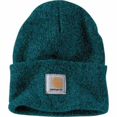 カーハート Carhartt メンズ 帽子 ニットキャップ Adult Acrylic Watch Hat Tidal/Blue Spruce Marl