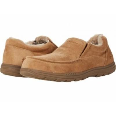 SKECHERS スケッチャーズ メンズ 男性用 シューズ 靴 スリッパ Expected X Larmen Tan【送料無料】