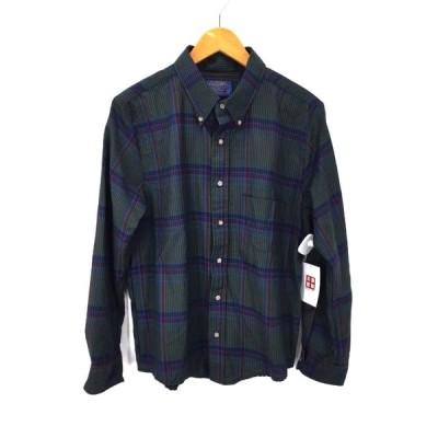 ペンドルトン PENDLETON Sir Pendleton USA製 ウールチェックシャツ メンズ XL 中古 201128