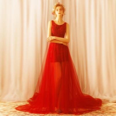 カラードレス 演奏会用ドレス パーティードレス ロングドレス ウェディングドレス 発表会 結婚式 ピアノ 二次会 ドレス 前撮り 結婚式 花嫁 大きいサイズ