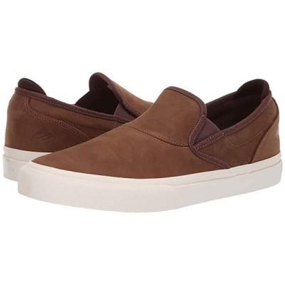 エメリカ Wino G6 Slip-On メンズ スニーカー 靴 シューズ Brown