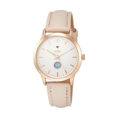 フィールドワーク 腕時計 ウォッチ/ソル 曜日表示付き ベージュ AB015-1 BE(取)