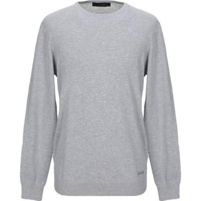 リウジョー LIU JO MAN メンズ ニット・セーター トップス sweater Grey