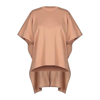セリーヌ CELINE T シャツ キャメル S コットン 100% / 羊革(ラムスキン) T シャツ