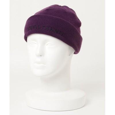 SETUP7 / 【Healthknit】リブニット帽 フロントロゴニットワッチ 291-4101 MEN 帽子 > ニットキャップ/ビーニー
