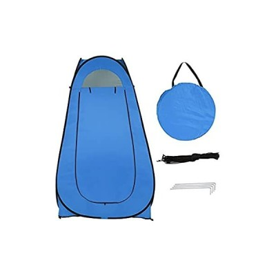 Durable Instant Camping Shelter; Pop Up Toilet Shower Tent Changing Room Dr 並行輸入品