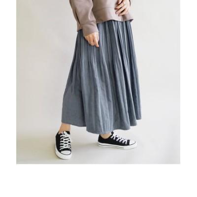 ミジンコール消しプリーツスカート