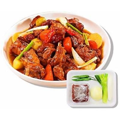 ★冷蔵選択必要★「韓サイ」簡単調理セット★豚のピリ辛カルビチム +レシピも一緒に?