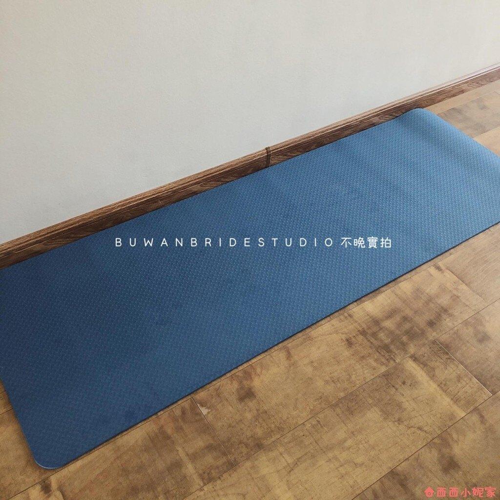 出口歐洲| 外貿單色雙色tpe瑜伽墊環保無味健身墊 全館八五折