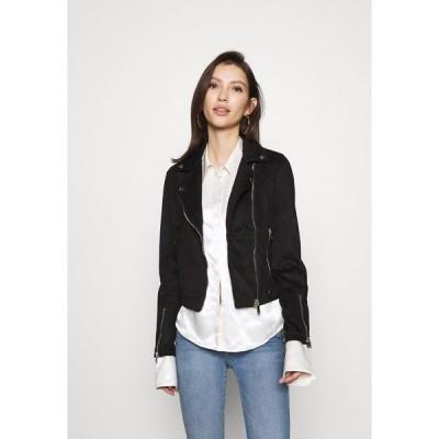 ミスセルフフリッジ ジャケット&ブルゾン レディース アウター BIKER - Summer jacket - black