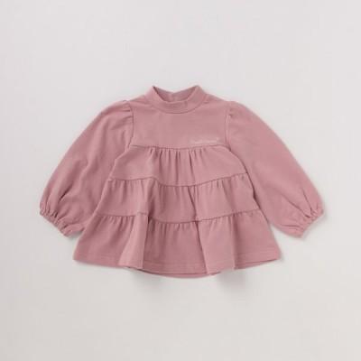 ピューピルハウス(Pupil House)ミニ裏毛  ティアードパフスリーブTシャツ【O_50】【AWSL】