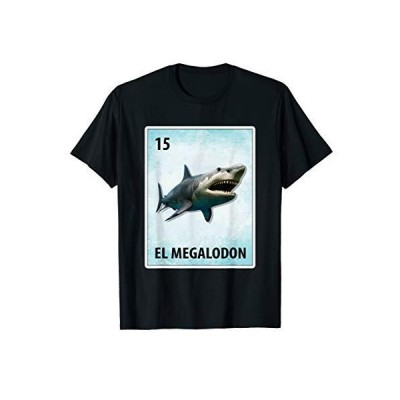 El Megalodon Mexican Megalodon Cards TShirt