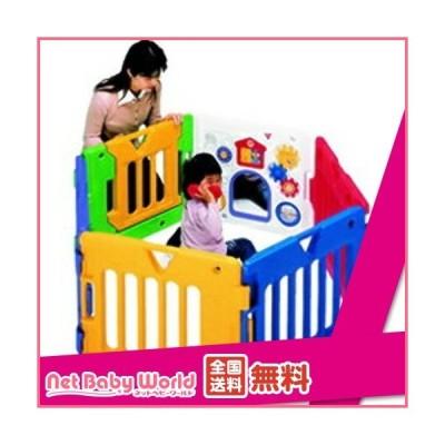 ミュージカルキッズランドデラックス ( 1個 )/ 日本育児 ( ベビーサークル フロアマット セーフティグッズ )