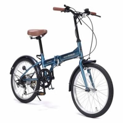 本州(離島除く)のみ配送可 代引不可 自転車 折りたたみ自転車 20インチ 折りたたみ 折り畳み 折畳 6段ギア付 コストパフォーマンスに優れ