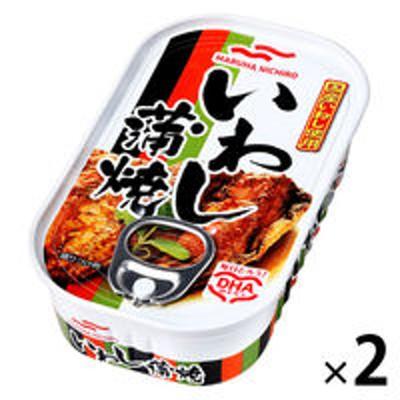 マルハニチロマルハニチロ いわし蒲焼 100g 2個 おかず・惣菜缶詰