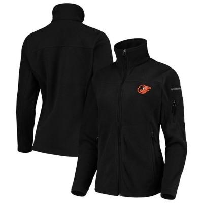 コロンビア ジャケット・ブルゾン アウター レディース Baltimore Orioles Columbia Women's Give & Go Full-Zip Jacket Black