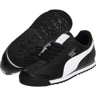 プーマ PUMA メンズ スニーカー シューズ・靴 Roma Basic Black/White/Puma Silver