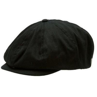 帽子 ブリクストン Brixton Brood Snap Cap ブラック Herリングbone Twill M