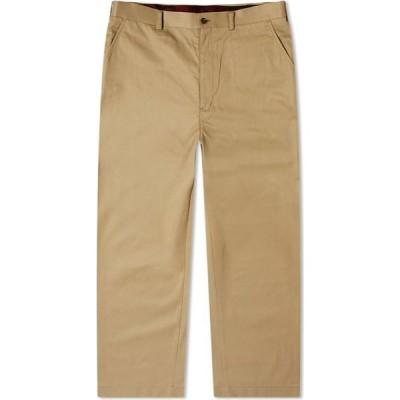 コム デ ギャルソン Comme des Garcons Homme メンズ チノパン ボトムス・パンツ Cotton Twill Chino Beige