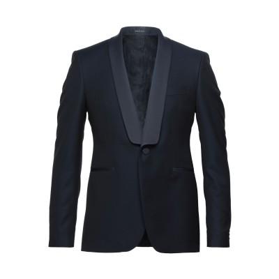 タリアトーレ TAGLIATORE テーラードジャケット ダークブルー 46 スーパー130 ウール 100% テーラードジャケット