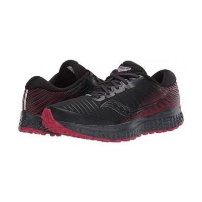 Saucony サッカニー レディース 女性用 シューズ 靴 スニーカー 運動靴 Guide 13 TR - Black/Barberry