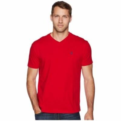 ラルフ ローレン Polo Ralph Lauren メンズ Tシャツ Vネック トップス Classic V-Neck T-Shirt RL Red