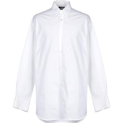 カルバンクライン CALVIN KLEIN 205W39NYC メンズ シャツ トップス solid color shirt White