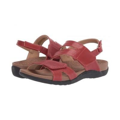 Rockport ロックポート レディース 女性用 シューズ 靴 サンダル Ridge Asymmetrical Strap - Red