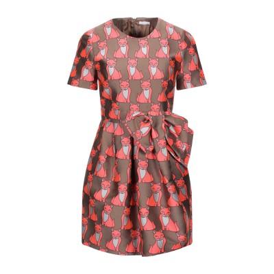パロッシュ P.A.R.O.S.H. ミニワンピース&ドレス キャメル S ポリエステル 73% / ナイロン 27% ミニワンピース&ドレス
