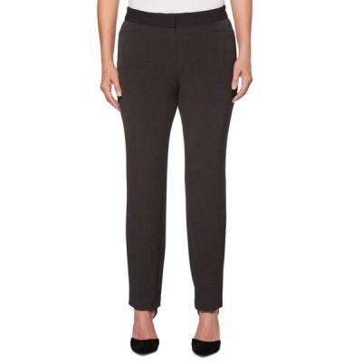 ラファエラ レディース カジュアルパンツ ボトムス Women's Curvy Fit Gabardine Slim Leg Pant- Short Inseam