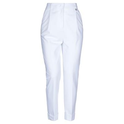 MANGANO パンツ ホワイト 38 ポリエーテル 70% / レーヨン 25% / ポリウレタン 5% パンツ
