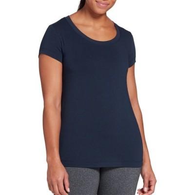 カリア シャツ トップス レディース CALIA by Carrie Underwood Women's Everyday Relaxed Fit T-Shirt DarkOcean