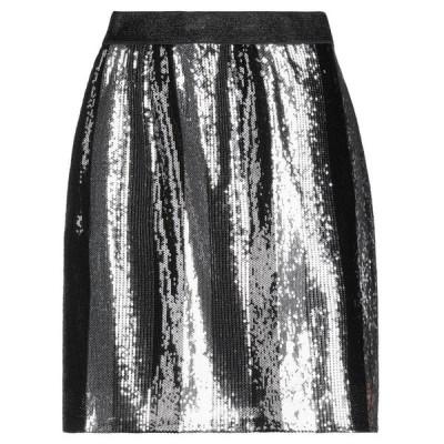 LE VOLIERE ミニスカート  レディースファッション  ボトムス  スカート  ロング、マキシ丈スカート ブラック