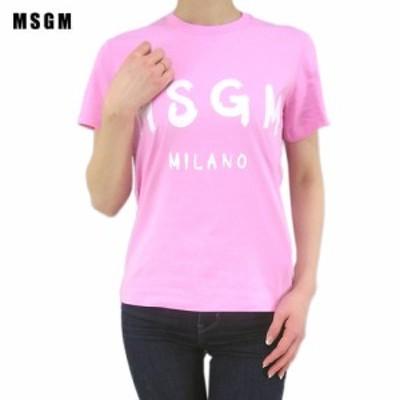 エムエスジーエム/MSGM レディース  Tシャツ 2841MDM60 207298 ピンク/12