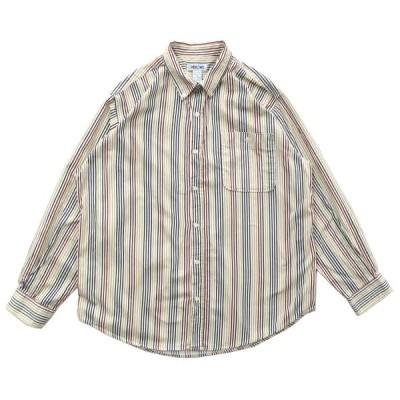 CHEROKEE ストライプ ボタンダウンシャツ 長袖 サイズ表記:XL