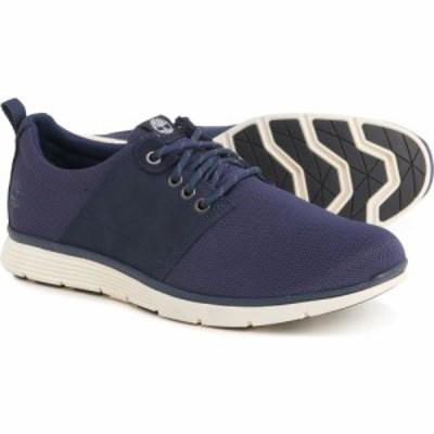 ティンバーランド Timberland メンズ スニーカー シューズ・靴 Killington Mesh Oxford Sneakers - Leather Navy Mesh