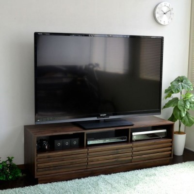 テレビ台 和モダン 格子デザイン TV台 テレビラック 150cm幅