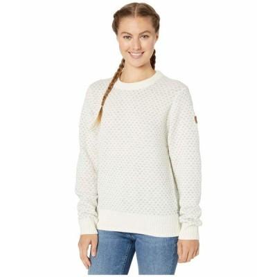 フェールラーベン ニット&セーター アウター レディース vik Nordic Sweater Chalk White
