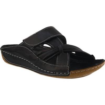 スプリングステップ Spring Step レディース サンダル・ミュール シューズ・靴 Gretta Slide Black Leather