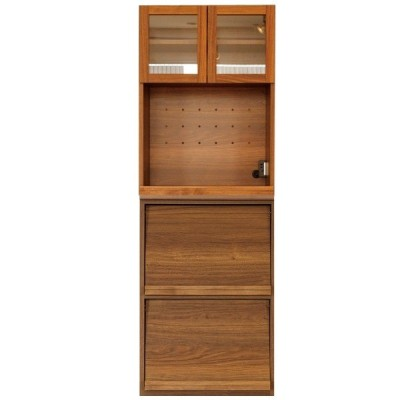 レンジボード 食器棚 おしゃれ 幅60cm ダイニングボード キッチン収納