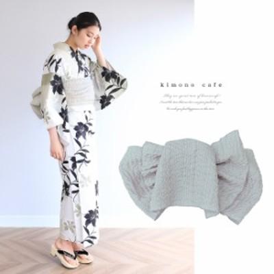 浴衣 セット 2点セット ぼかし黒百合 麻 兵児帯 浴衣セット kimonocafe フリーサイズ Sサイズ ワイドサイズ TLサイズ
