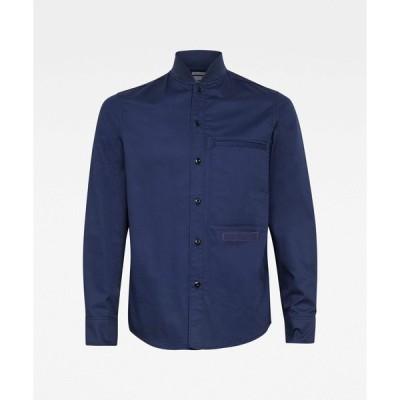 シャツ ブラウス Bomber Collar Regular Shirt
