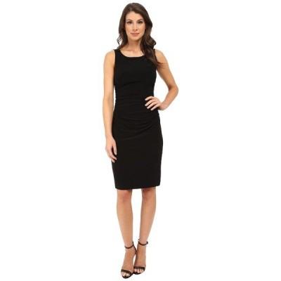 カマリカルチャー ワンピース トップス レディース Sleeveless Shirred Waist Dress Black