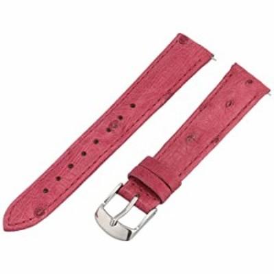 腕時計 Swiss Watch International 16?MMラズベリーGenuine Ostrich Strap 16os37?m