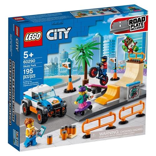 LEGO 樂高  LT60290 滑板公園_CITY城市系列
