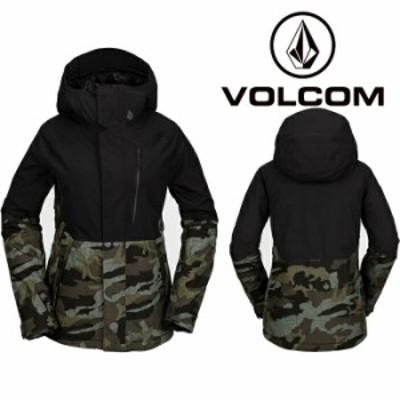 ボルコム ウェア ジャケット 20-21 VOLCOM WOMENS ARIS INS GORE JACKET SVG-Service Green H0452105 スノーボード ゴアテックス 日本正