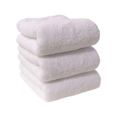 フェイスタオル タオル 3枚セット 35×80cm 綿100% 厚手 無地 丸洗い 夏タオル 吸水 通気性タオルケット ホテル ギフト デイ