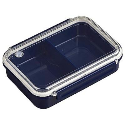 まるごと冷凍弁当タイトボックス(仕切付)800ml ネイビー ランチジャー・弁当箱